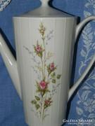 ZEH-gyönyörű rózsás porcelán teás kiöntő