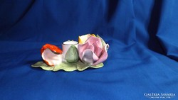 Aquincumi  három rózsás gyertyatartó
