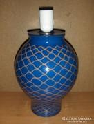 Kék kerámia lámpatest (g)