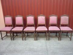 6 db jugendstil szék......szúmentes....