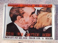 Femlemez képeslap,Breznev-Ulbricht szerelem, R!
