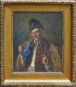 Horváth G. Andor: Pipázó juhász