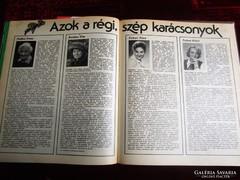 MAGYAR KONYHA 1986 egybekötve SZAKÁCSKÖNYV CUKRÁSZAT szakács