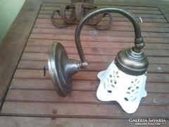 Elektromos falikar mázas áttört kerámia burával (állítható)