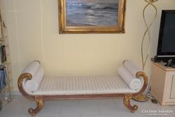 Barokk rokokko sofa 184x67x69cm