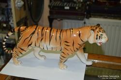 Kerámia nagyméretű tigris figura