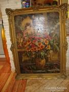 Merényi R. '32 nagyméretű festmény