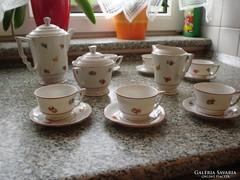 Zsolnay ét-,kávés-,teás készlet