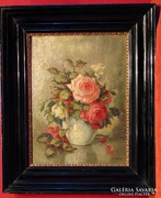 H.P.Faber / Hervadó rózsák -gyönyörűséges antik mű 1926-ból