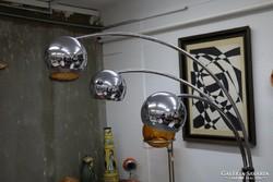 Krómozott állólámpa