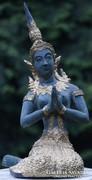 Thai bronz szobor