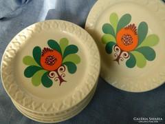 Retro GDR süteményes tányérok (6 db)