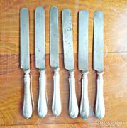 6 db. ezüstözött kés ART KRUPP BERNDORF