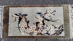 Csodálatos kézi selyem Perzsa szőnyeg