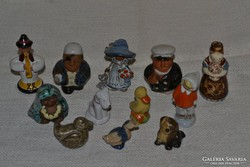 12 db kerámia mini figura ( 018 )