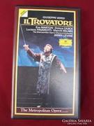 Verdi: A trubadúr  MET előadás VHS