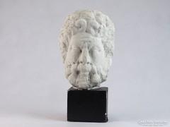 0J930 Ismeretlen Görög férfi gipsz fej szobor
