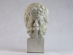 0J931 Ismeretlen Görög férfi gipsz fej szobor