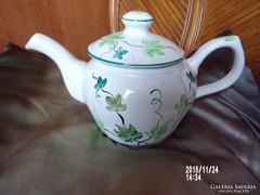 Herendi majolika teás készlet