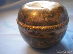 Antik,ezüstözött fedeles bonbonier