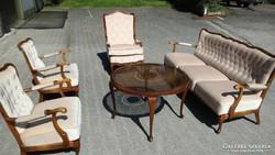 Chippendél barokk 4 darabos nappali vagy szalongarnitura hi