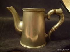 Ritka 1708-as ezüstözött antik gyűrűs kiöntő