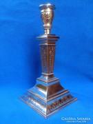 Antik ezüst gyertyatartó ( 291 gr )