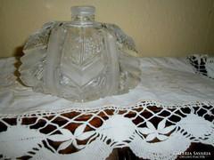 Parfümös olomkristály  üveg
