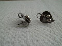 Régi ezüst fülbevaló