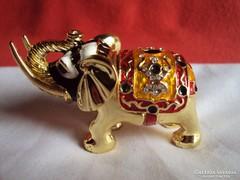 Csodás Elefánt ékszertartó polc vagy vitrin dísz