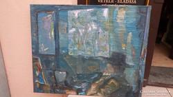 Merengés - Alkotó: JUHÁSZ SÁNDOR ( Szül: 1934 - 1993 )