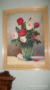 Rózsás festmény