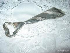 ezüstözött nyakkendő  sörbontó
