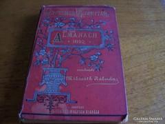1892 Almanach Mikszáth Kálmán