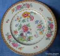 Meseszép Staffordshire porcelán kínáló, tányér