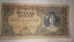 Régi magyar 500 pengő