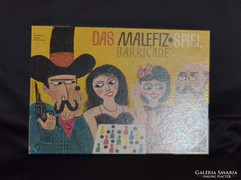 Ravensburger Das Malfiz társasjáték 1962-es