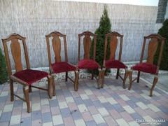 5db Neobarokk szék / bármilyen kárpittal kérhető