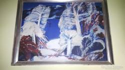 Eredeti Balogh Ervin festmény eladó