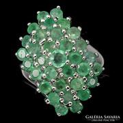 Valodi Termeszetes Kezeletlen Smaragd 925 Ezust Gyuru