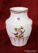 Rothschild mintás Herendi váza -  16 cm