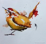 Biró Richárd(Biró Konrád fia) gyönyörű művészi akvarellje