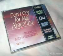 Lloyd Webber, Evita, Macskák stb 3 db bontatlan CD