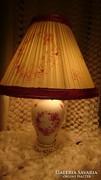 Herendi indiai kosár mintás, óriás asztali, porcelán lámpa