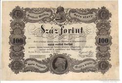 100 forint 1848 III.