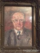 Herman Lipót (1884-1972)  festménye