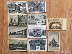 10 db. Szeged-i képeslap 1943. tábori posta
