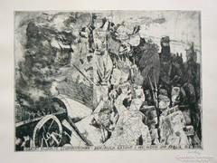 LENKEY ZOLTÁN RÉZKARC (30X40) 1978