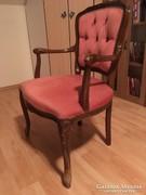 Neorokokó kárpitozott szék