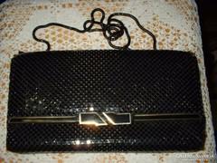 Szinházi táska fekete strassz Elegáns szép db